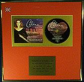 CELINE DION  -  CD Single  Award - MY HEART WILL GO ON