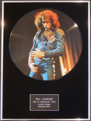 Neil Diamond Framed 12 Picture Disc Greatest Hits