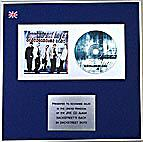 BACKSTREET BOYS -  CD Album Award  - BACK STREET BOYS