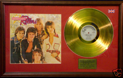 Bay City Rollers Gold Disc Amp Cover Wouldn T You Like It