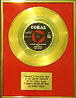 "BUDDY HOLLY-24 Carat Gold 7"" IT DOESN'T MATTER ANY MORE"