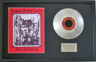 The Rubettes 7 Platinum Disc Amp Songsheet Sugar Baby Love